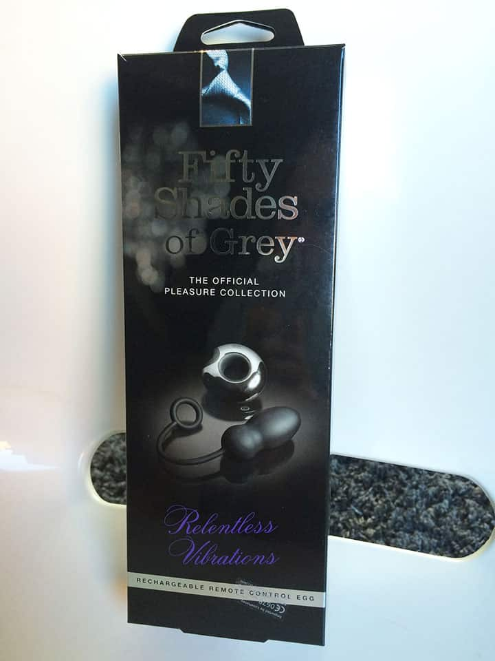 Fifty Shades of Grey Remote Control Egg Verpackung Front