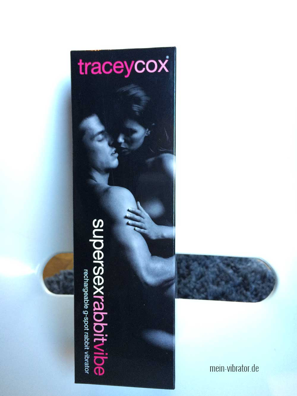 Tracey Cox Supersex Rabbit Vibrator Verpackung Front