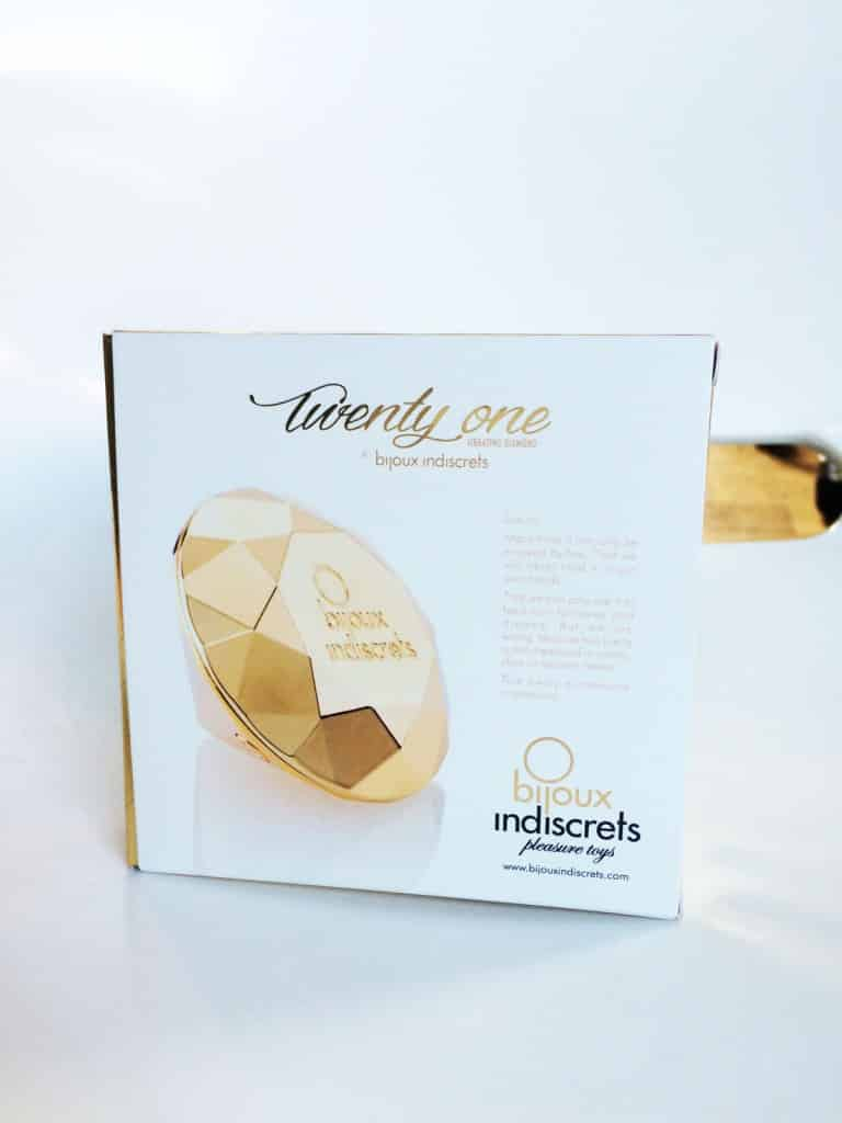 Bijoux Indiscrets Twenty One Vibrating Diamond Verpackung