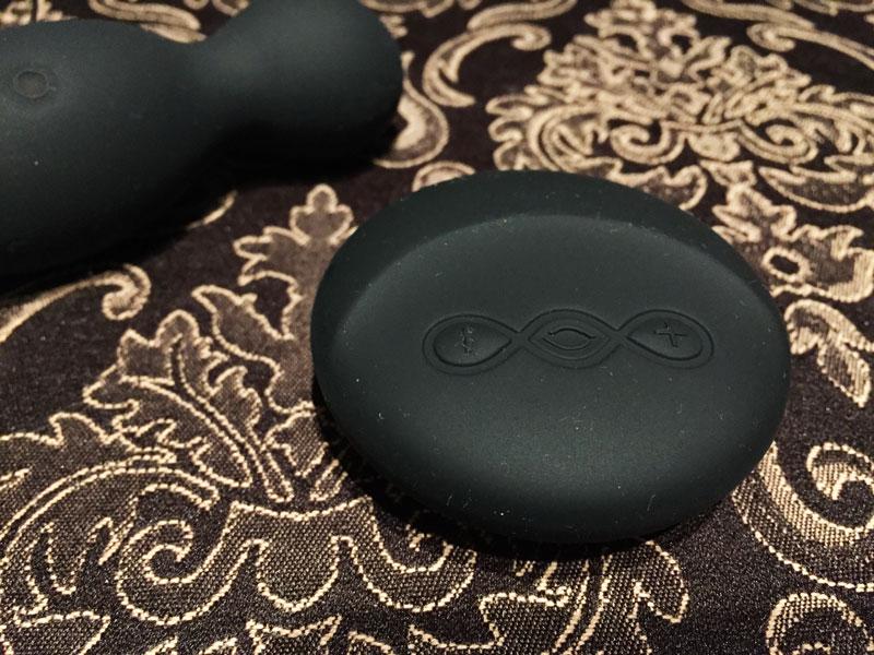 LELO Hula Beads Black Fernbedienung