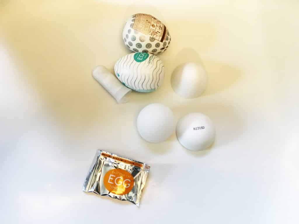 Tenga Eggs ausgepackt