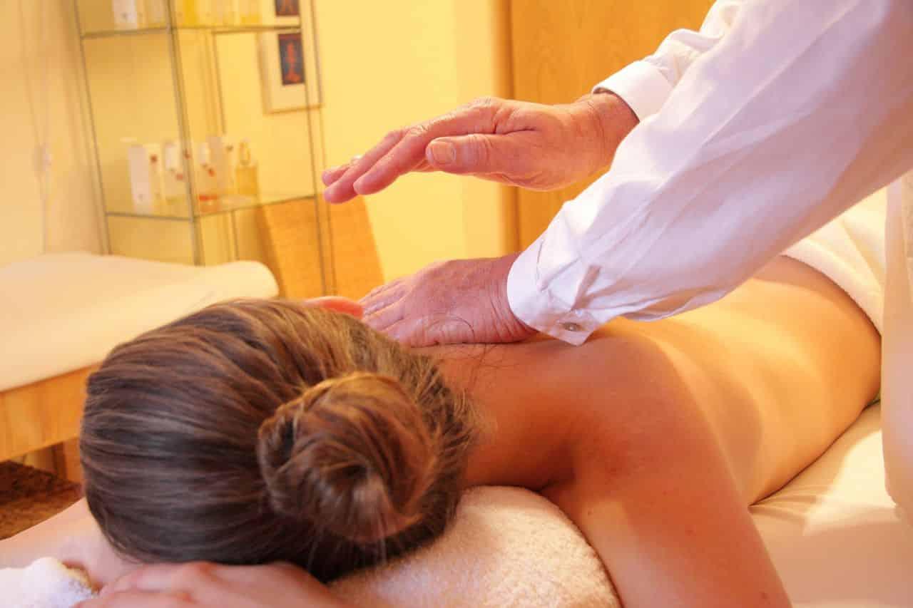 Massage vor dem Sex